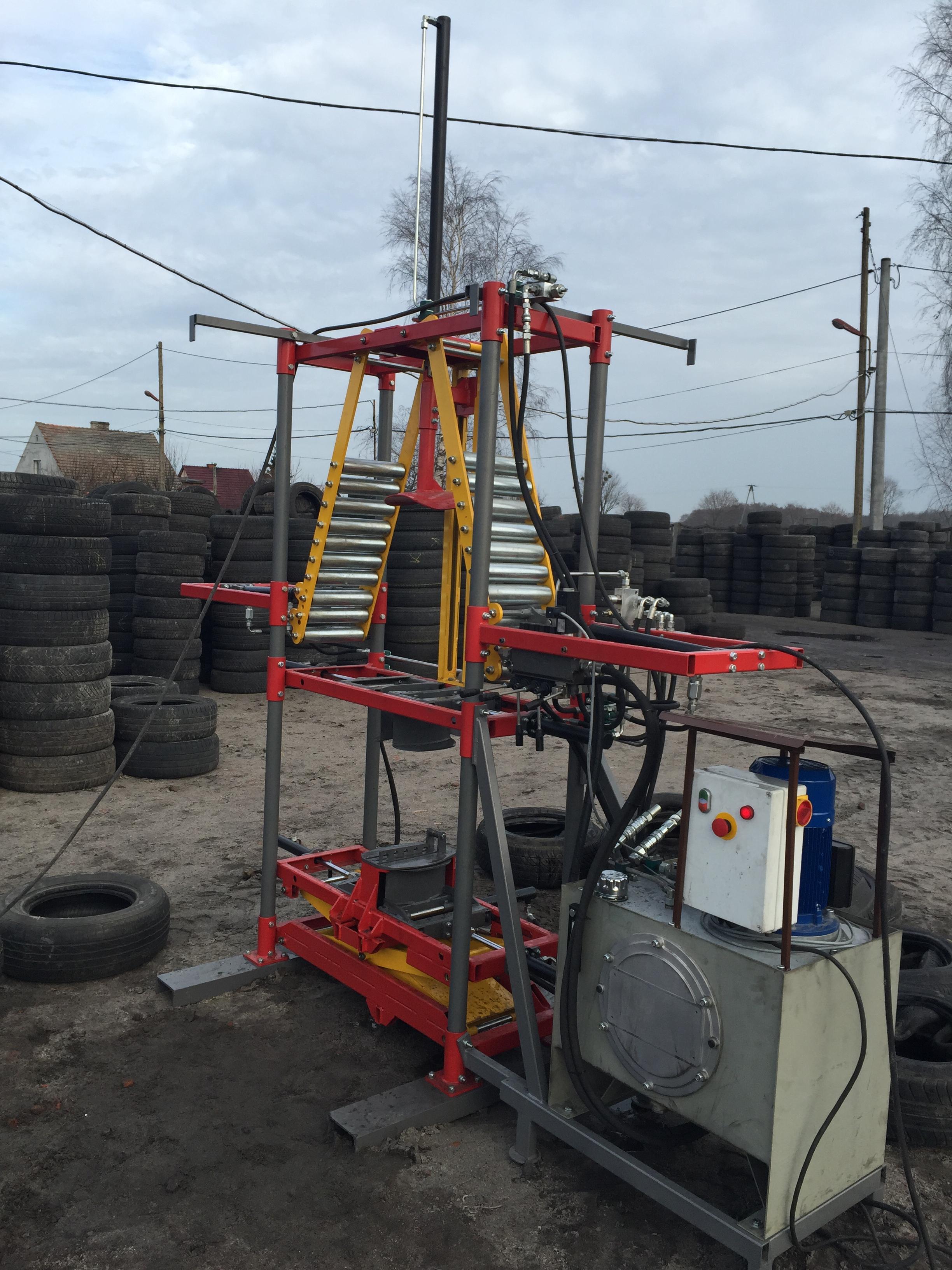hydrauliczna maszyna do pakowania opon